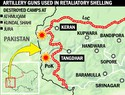 3 camps destroyed, 6-10 Pak soldiers dead