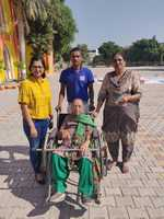 Elderly, disabled, first-time voters participate in festival of democracy
