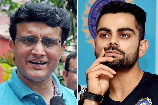 Time Virat Kohli took to give nod for D/N Tests? 'Just 3 seconds' says BCCI Prez Ganguly