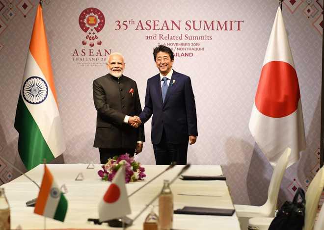Narendra Modi, Shinzo Abe review situation in Indo-Pacific