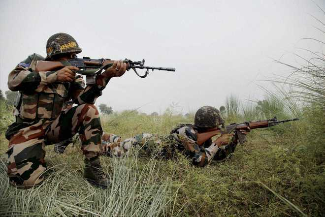 Pakistan opens fire at forward posts in Poonch district of J-K