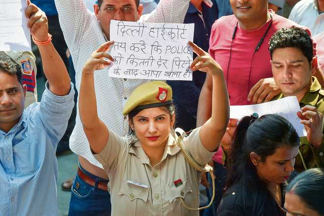Drawing lessons from Delhi police protests