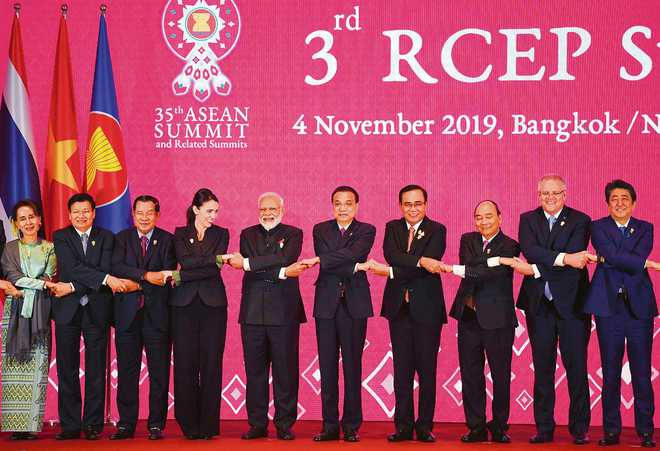RCEP experience & setback