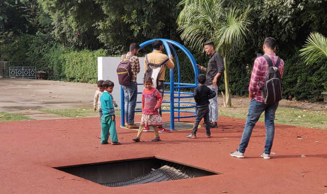 Divyang Park in need of care