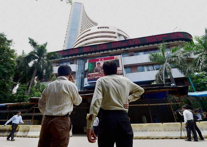 Sensex tanks 330 pts as Moody's cuts India credit outlook