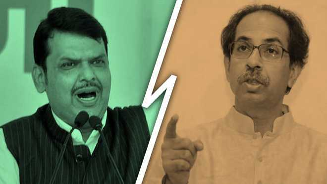 What happened in the days leading to the bitter BJP-Sena impasse