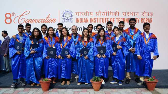 240 receive degrees at IIT-Ropar