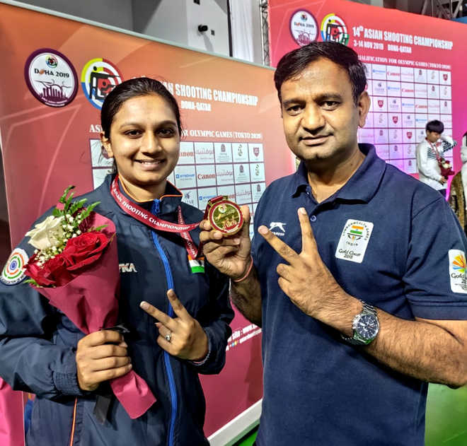 Rohtak erupts in joy as local shooter wins Asian gold
