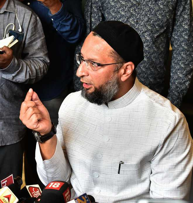 It's victory of faith over facts: Owaisi