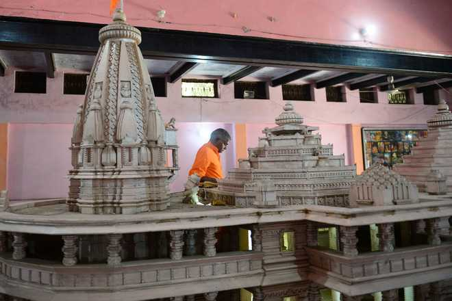 Govt starts process to form Ayodhya trust