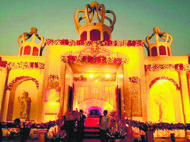 Slowdown takes sparkle out of Gurugram's glitzy weddings