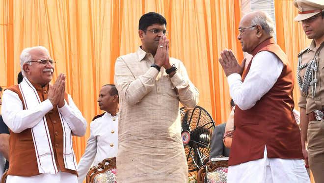 11 portfolios allocated to Dy CM Dushyant