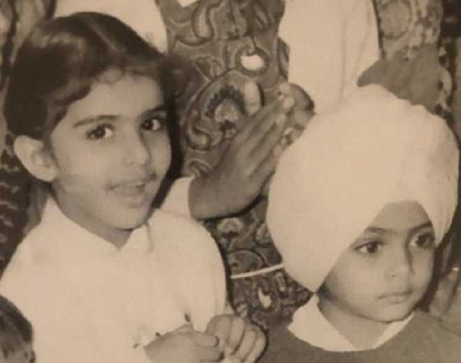 Amarinder Singh shares memorable picture of his kids, Twitter says 'cute'