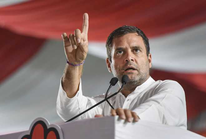 Rahul Gandhi calls for probe by JPC after SC verdict on Rafale