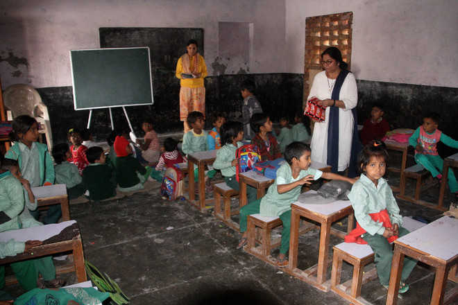 Despite funds, girls' school in Rohtak without building