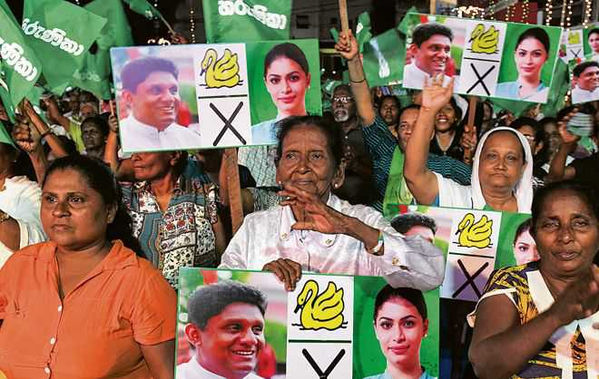 India watches keenly as Lanka goes to polls