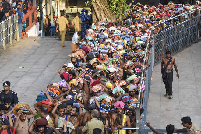 10 women devotees sent back by police as Sabarimala opens for pilgrimage