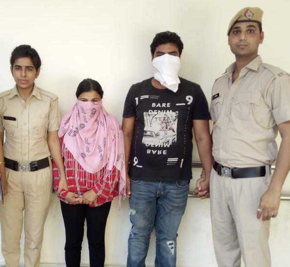 2 held for demanding Rs 50 lakh to withdraw case