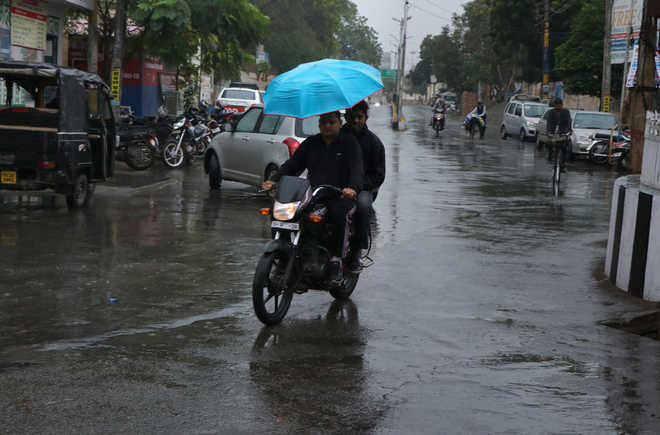 Light showers bring respite from smog