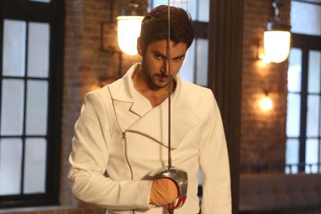 Shivin learns fencing!