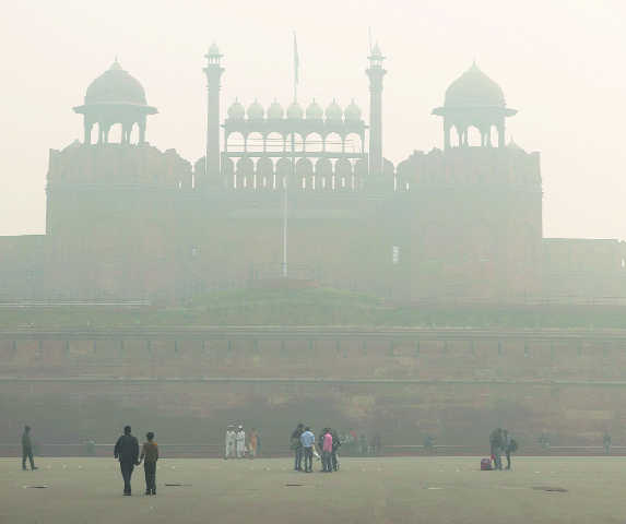 Smog dissipates as winds  bring relief in Delhi-NCR