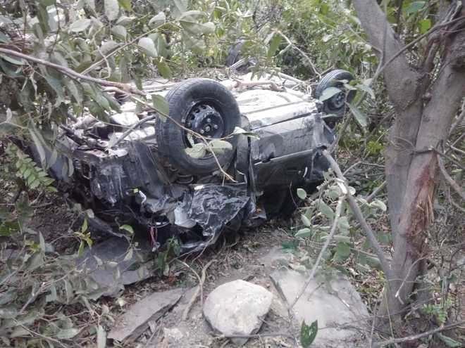 Three killed in road accident on Chandigarh-Manali highway
