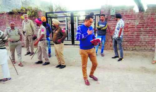 Witnessing brawl proves dear for two villagers