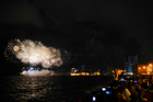 Fireworks explode over the colonial-era fortress 'El Morro Cabana' during celebrations for the 500th anniversary of the city Havana, Cuba on November 15, 2019. — Reuters