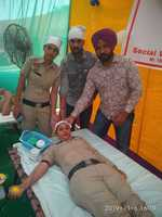 2,800 units of blood collected in 10 days