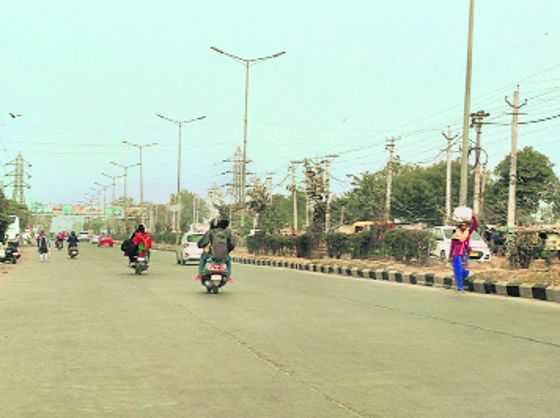 Broader bypass to decongest traffic in Faridabad