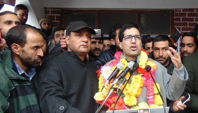 Shah Faesal begins political journey