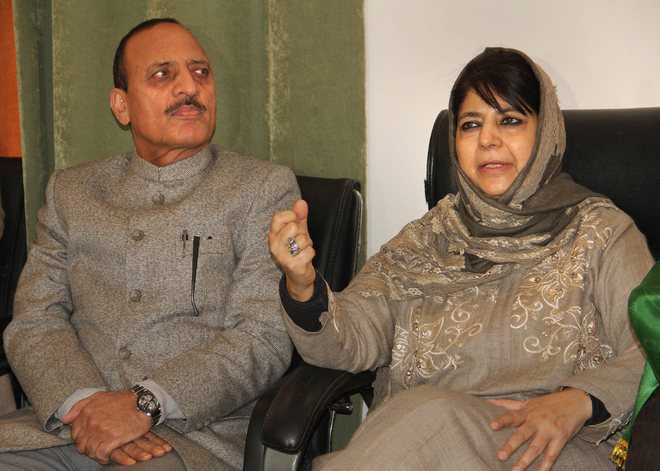 Mufti dissolves PDP's Jammu committees