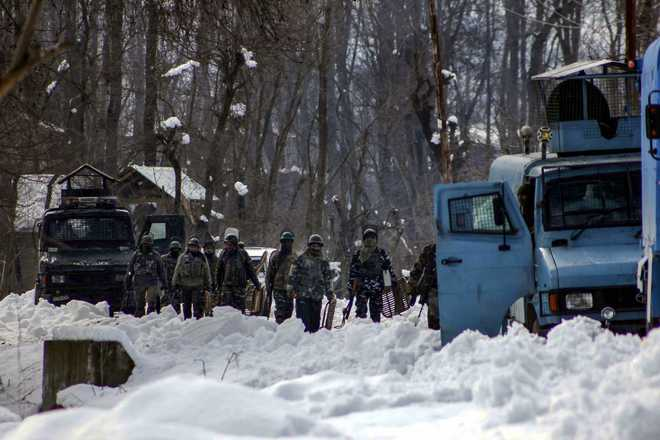 5 militants killed in encounter with security forces in Kashmir''s Kulgam