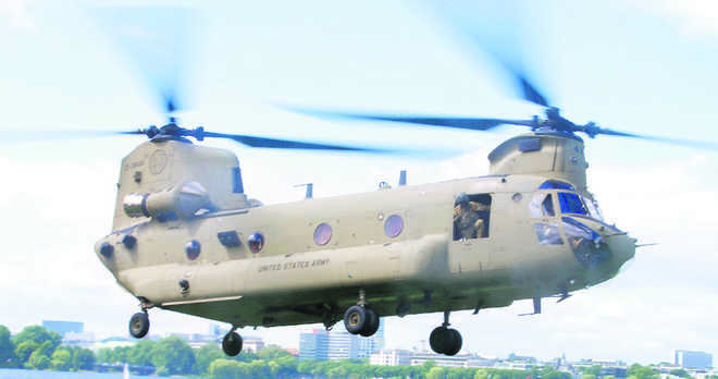 First 4 Chinooks arrive in Gujarat