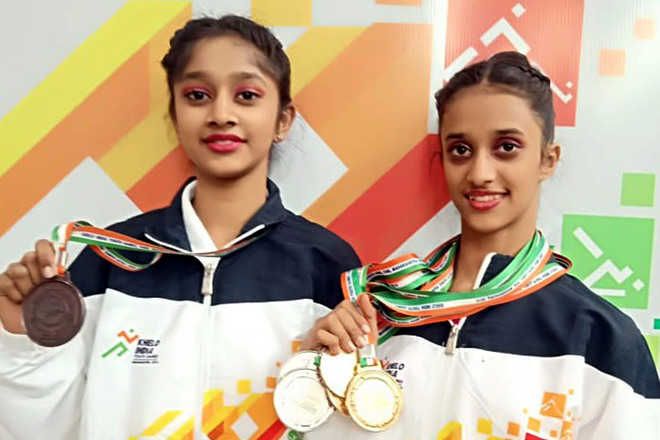 State gymnasts appeal to admn for better sports infra