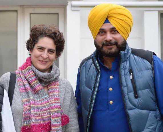 Cong campaigner-at-large Navjot Sidhu compares Priyanka to Kohinoor