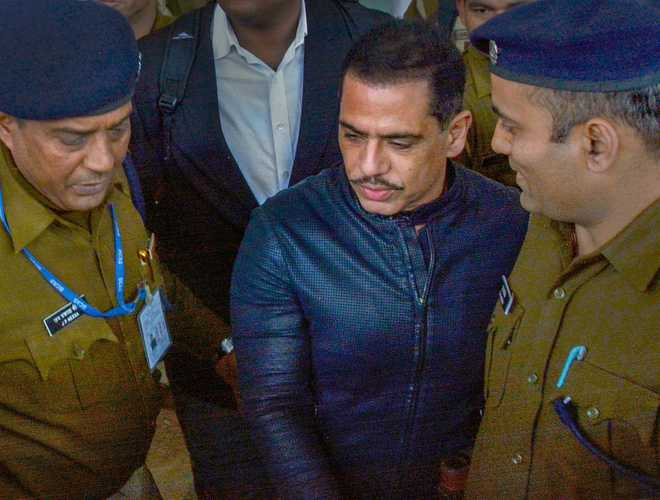 Vadra, mother to appear before ED in Jaipur on Tuesday