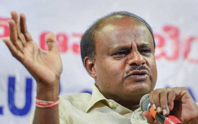 Kumaraswamy announces SIT probe into audio clip row