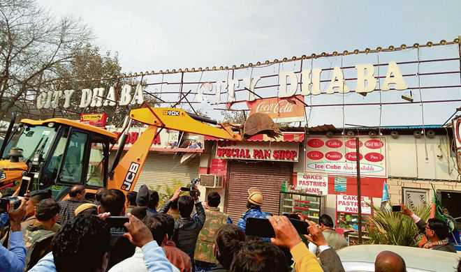 103 'illegal' banquet halls, shops sealed in Faridabad