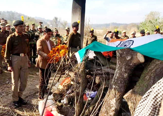 BSF jawan cremated with honours in Una