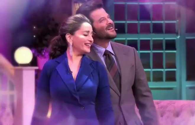 Madhuri Dixit discusses her first 'fan moment' at 'The Kapil Sharma Show'