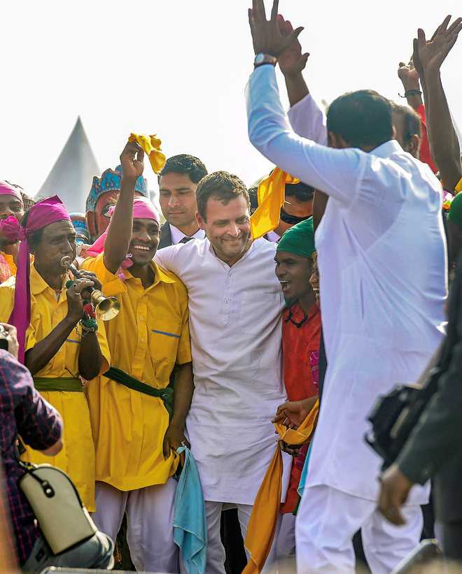 Cong will counter hatred by RSS-BJP with love: Rahul
