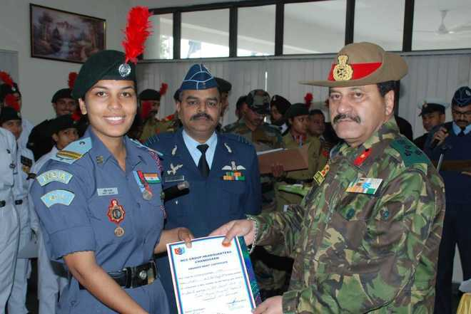 NCC cadets felicitated