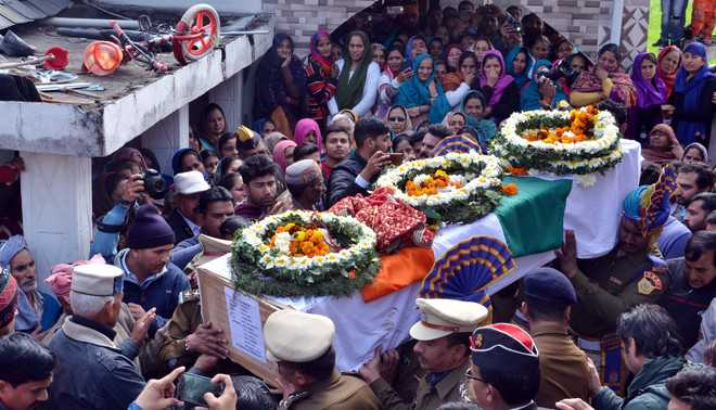 Martyr cremated with full state honours