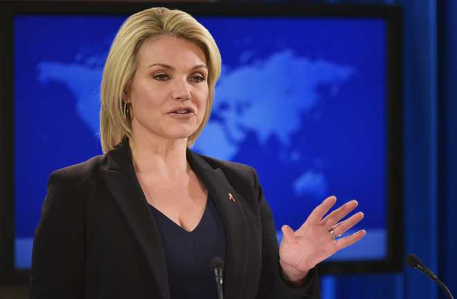 Trump's choice for UN ambassador, Heather Nauert, withdraws: State Dept