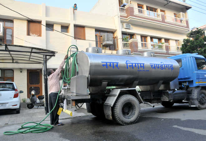 Tankers in place to deal with water crisis