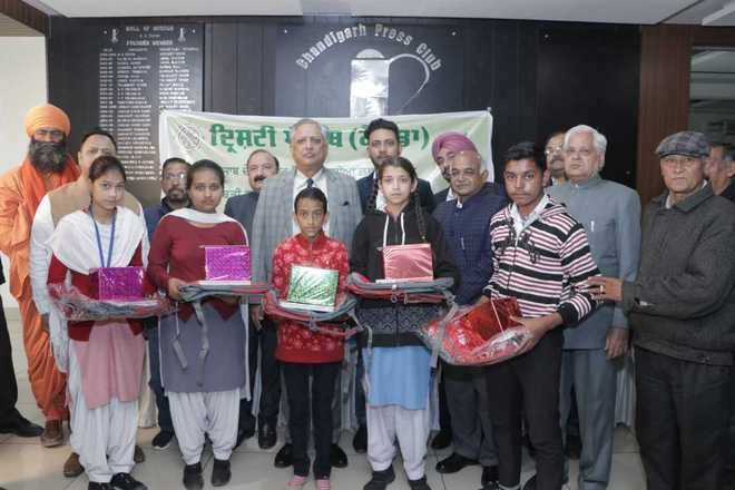 19 bright students felicitated in city