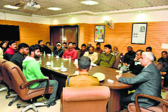 J&K residents in city reassured of safety