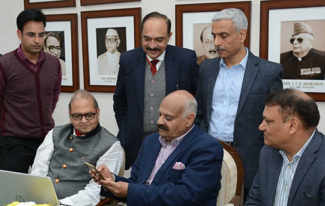 Punjab Guv launches health app