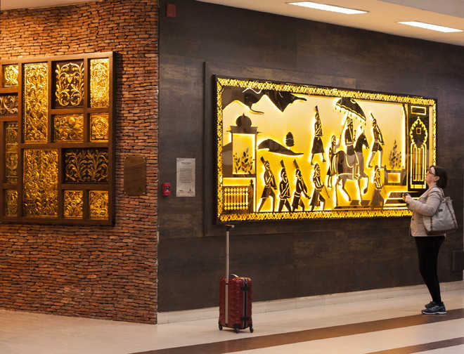 Artistic revamp of Amritsar airport